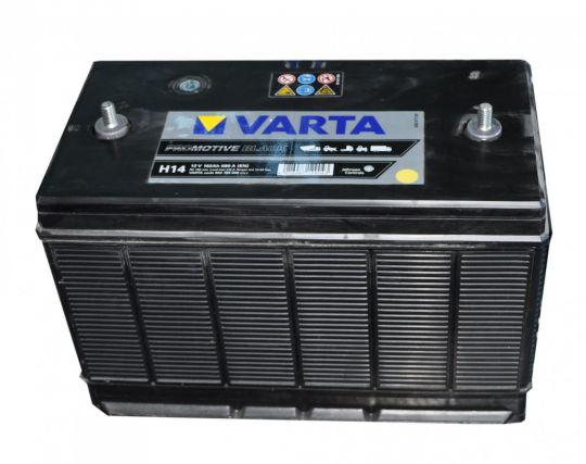 Автомобильный аккумулятор АКБ VARTA (ВАРТА) Promotive Black 602 103 068 H14 102Ач амер.клеммы