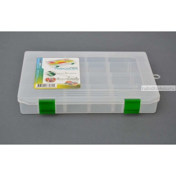 Коробка Aquatic Fisherbox FB-250 (25Х19Х04 см)