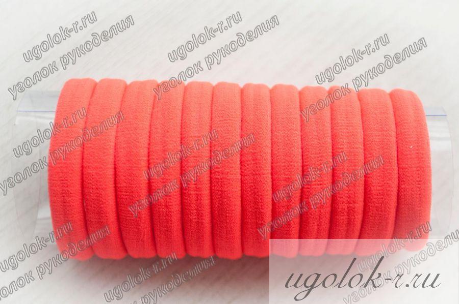 Резинка бесшовная 4 см (оранжевая)