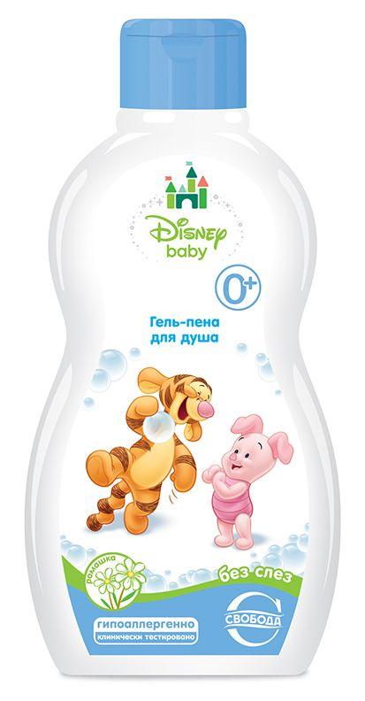 Гель-пена для душа Disney Baby без слез 0+