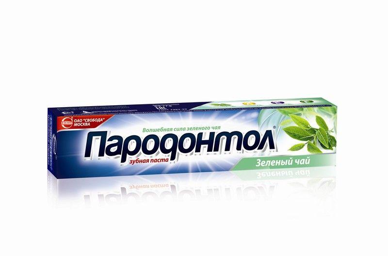 """Паста зубная """"Пародонтол"""" зелёный чай"""