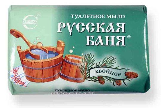Мыло Русская баня хвойное
