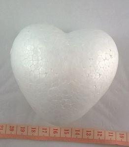 `Сердце из пенопласта, ширина 100 мм