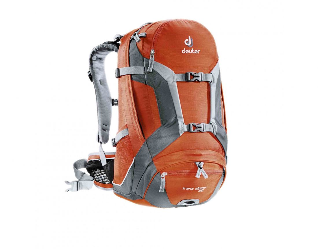 DEUTER BIKE TRANS ALPINE 30L PAPAYA-GRANITE СПОРТИВНЫЙ РЮКЗАК