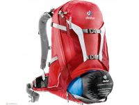 DEUTER BIKE TRANS ALPINE 30L fire-cranberry универсальный рюкзак
