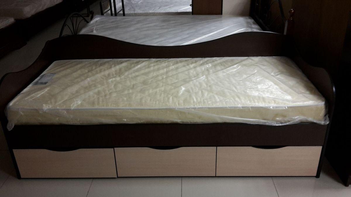 """Кровать """"Волна"""" 0,9х2.0"""