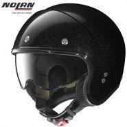 Мотошлем Nolan N21 Durango Flake Demi Jet, Черный