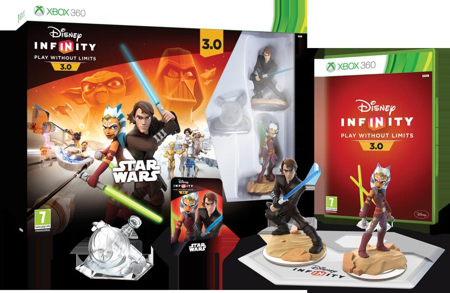 Disney Infinity 3.0 (Xbox 360) Стартовый набор