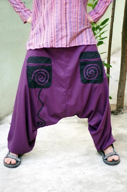 Зуавы из хлопка (отправка из Индии)
