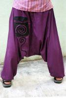 Индийские штаны зуавы из хлопка, женские и мужские