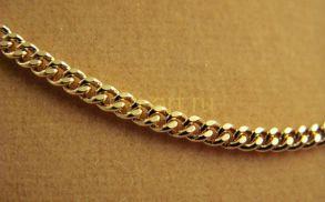 Стильная позолоченная цепочка, 2 мм (арт. 250269)