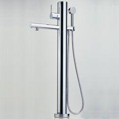 Смеситель IL BAGNO ALESSI One by Oras (8550) для ванны с ручным душем, напольный.
