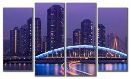 Мегаполис в ночи