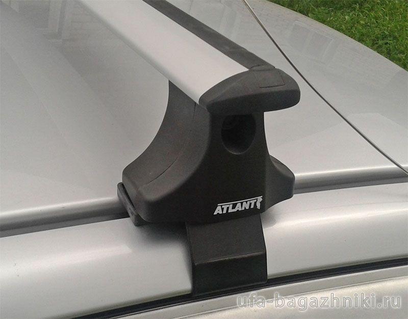 Багажник на крышу Kia Rio 2000-05, sedan/universal, Атлант, крыловидные дуги
