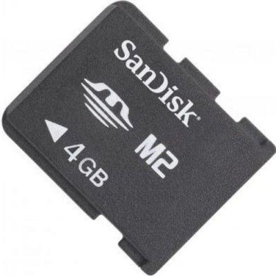 Карта памяти SanDisk, (SDMSM2M-004G-B35), стандарт Memory Stick M2, 4ГБ EOL