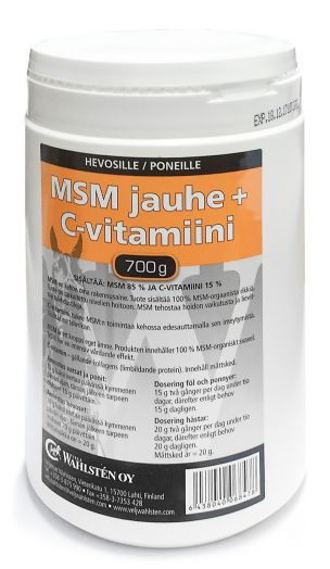 """Wahlsten имбирь, витамин """"С"""" и МСМ. Для мышц, копыт и сухожилий. Снимает воспаление"""