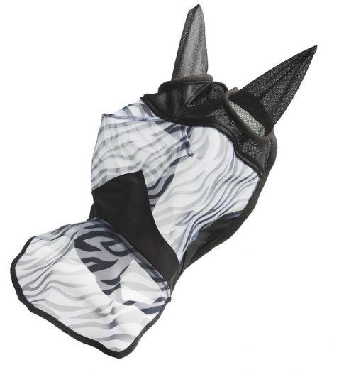 Защитная маска от насекомых с ушками. Зебра