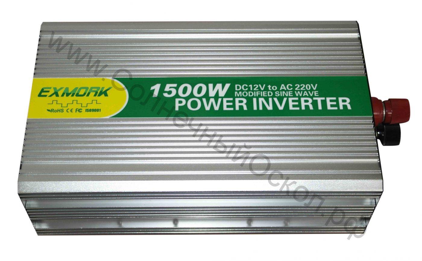 Инвертор модифицированный синус TWM-1500  12V