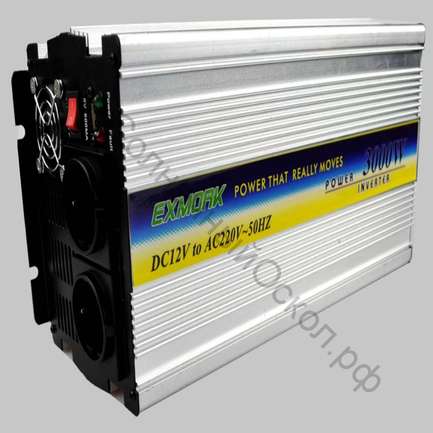 Инвертор модифицированный синус TWM-3000 12V