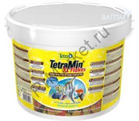 TetraMin XL корм для всех видов рыб крупные хлопья
