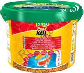 Tetra Koi Sticks – специальный высококачественный плавающий корм, рекомендуемый для питания карпов Кои.