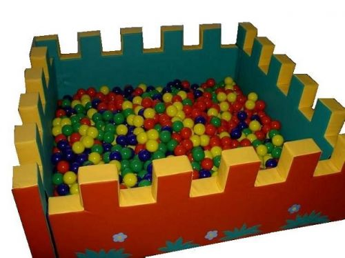 Сухой бассейн «Крепость»