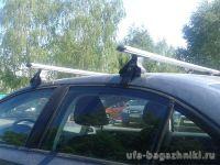 Багажник на крышy Kia Cerato TD 2009-13, Атлант, аэродинамические дуги, опора E