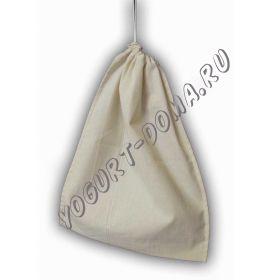 Бязевый мешочек для отжима творога