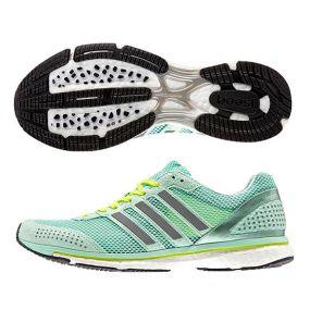 Женские кроссовки adidas adizero Adios Boost 2.0 Women салатовые
