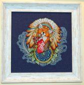 Схема для вышивки крестом Ловец снов - Лисенок. Отшив