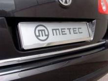 Рамка номерного знака, Metec, нерж. хромоникелевая сталь, пара