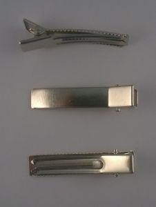 `Заколка, основа, металл, длина 50 мм, Арт. Р-ФТ0014