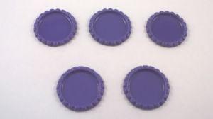 `Крышка, металл, внутренний диаметр 25 мм, наружный 31 мм, цвет №09