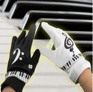 Электронные перчатки Фортепиано