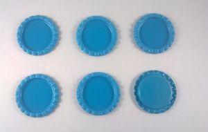 `Крышка, металл, внутренний диаметр 25 мм, наружный 31 мм, цвет №01