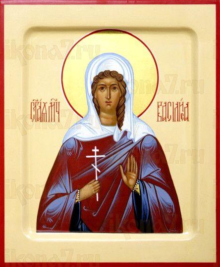 Икона Василиса Коринфская (рукописная)