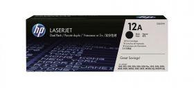 HP Q2612AF Картридж Оригинальный Black, 2-pack (2000 стр.)