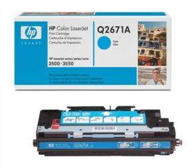 HP Q2671A Картридж Оригинальный , Cyan LJ3500, Cyan, (4000стр.)
