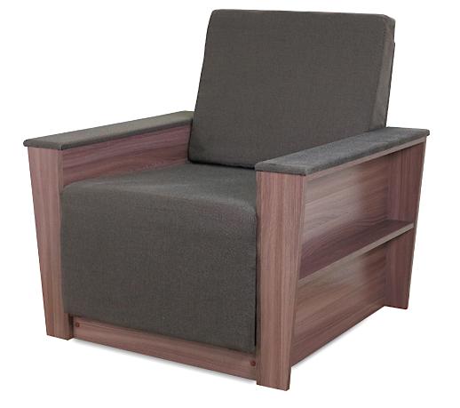 """Кресло-кровать """"Бруно 2"""" тёмный"""