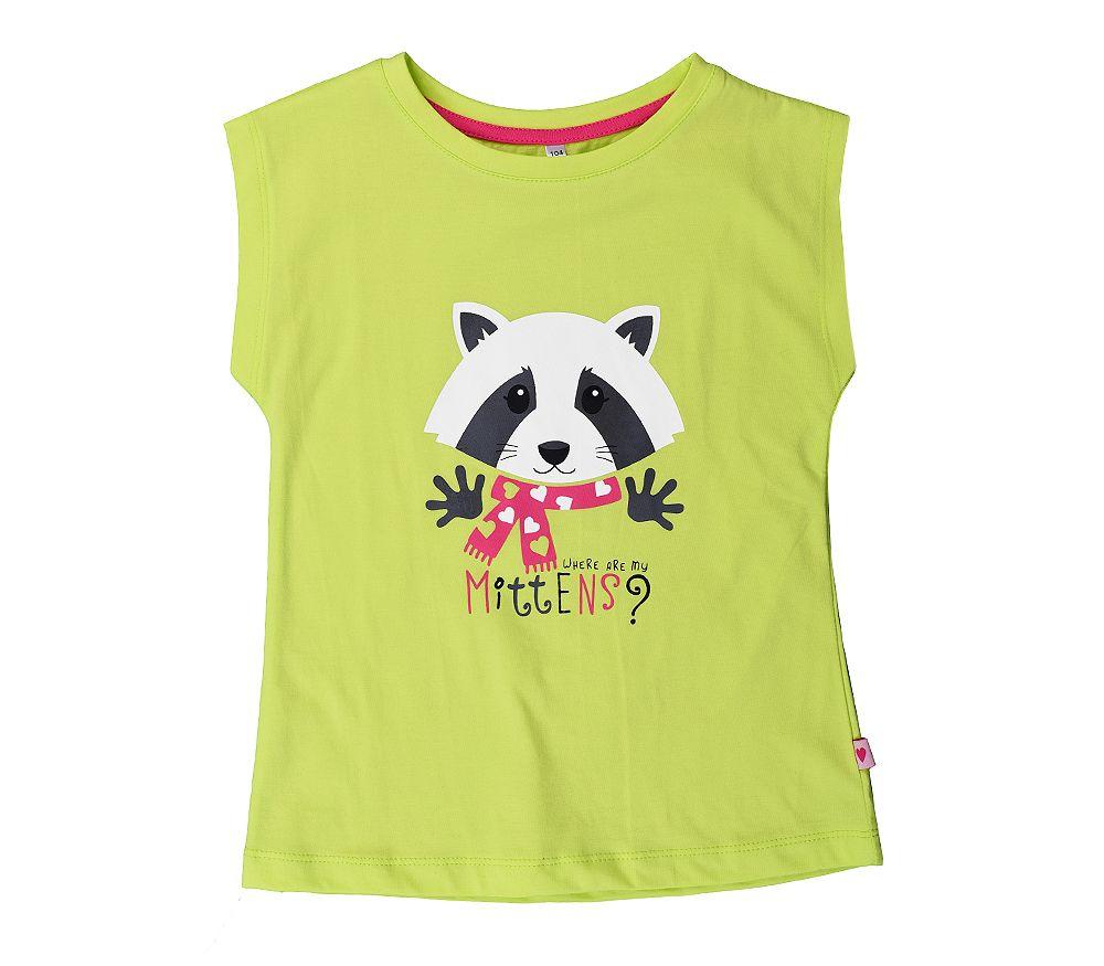 Легкая футболка на лето для девочки