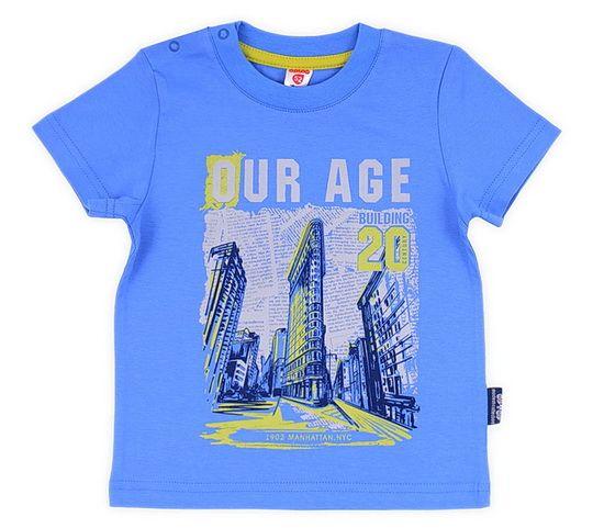 Летняя футболка для мальчика Городские улицы