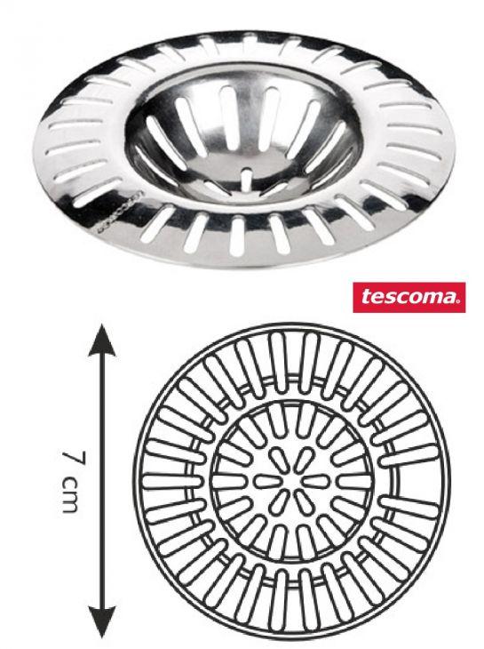 Фильтр для раковины из нержавеющей стали PRESTO 7 см 115212 TESCOMA