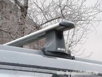 Багажник на крышу Nissan X-Trail, Атлант, крыловидные дуги