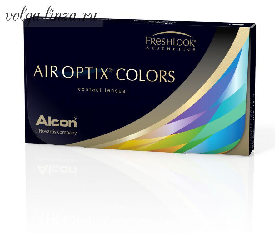 Air Optix Colors-цветные силикон-гидрогелевые линзы