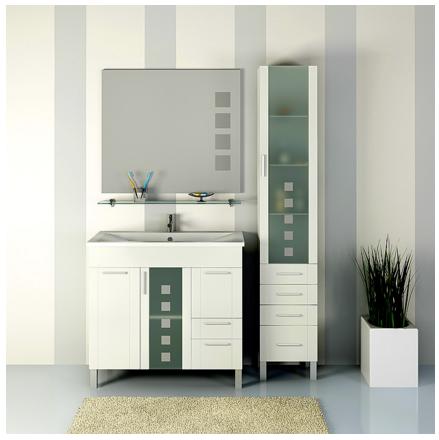 Комплект  мебели OPADIRIS НЕВАДА 90 цвет белый