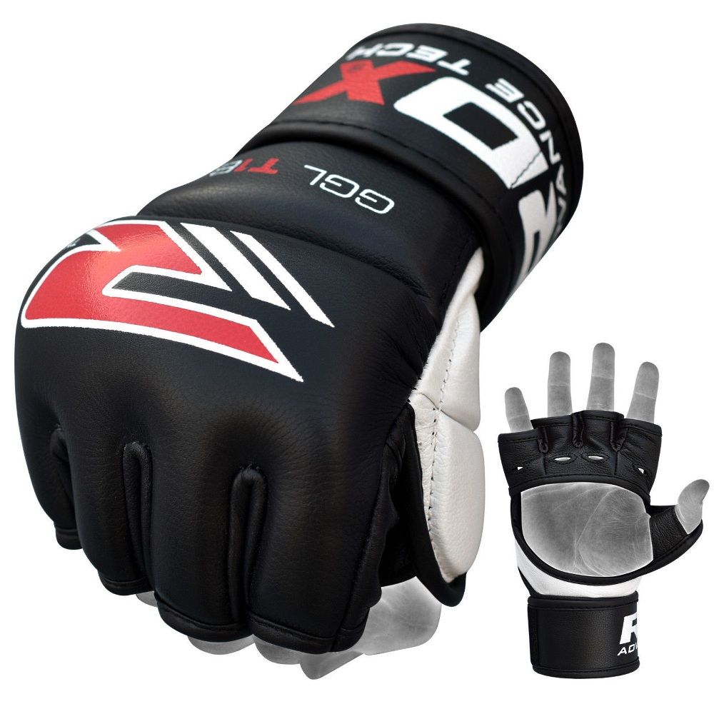 Перчатки MMA RDX T1 BLACK