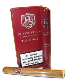 Private Stock Med. Fil. № 2 Tubos*3