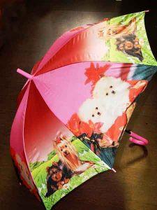 Зонт-трость Кошечки-собачки