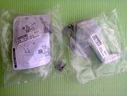 Ремкомплект для ручки двери холодильника Liebherr, цвет серый, 959017800013