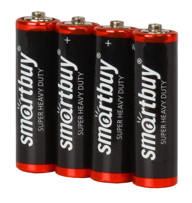 Батарейка солевая Smartbuy R03/4S (AAA)